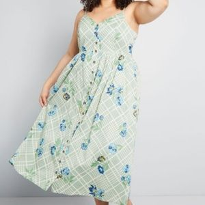NWTModCloth | Quite Clearly Charismatic MIdi Dress
